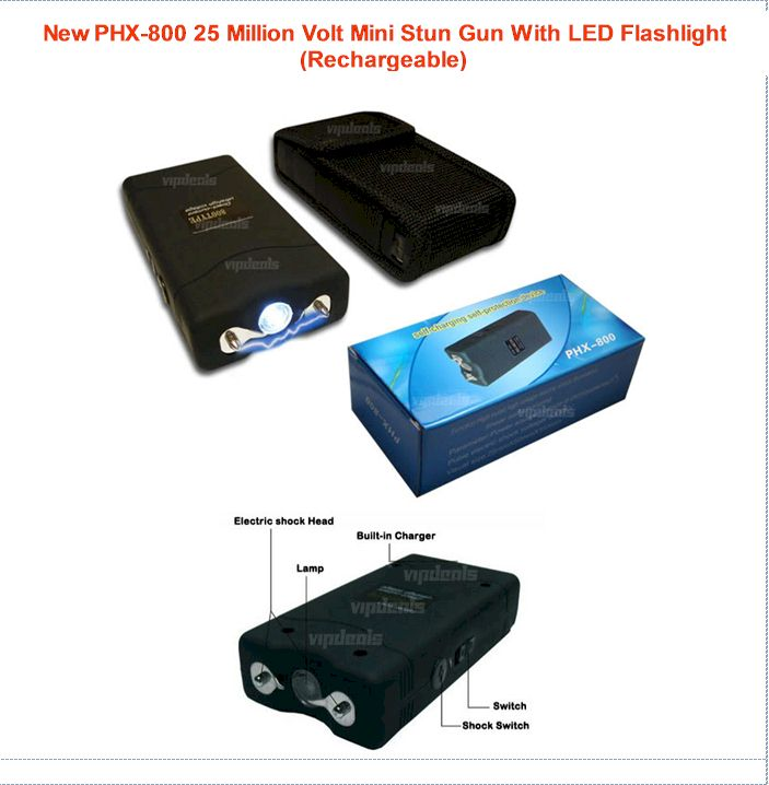 Best Stun Gun - 25 Million Volts
